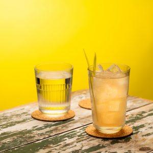 12 כוסות דופ טארק נערמות