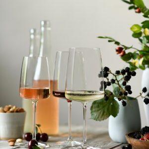 שישיית כוסות יין SENSA קריסטל 530 מ